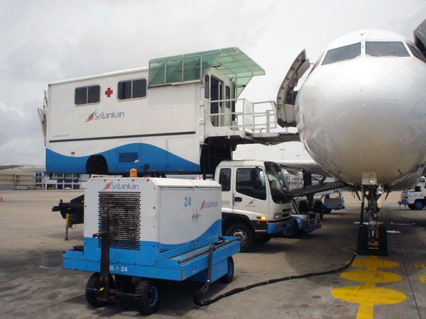 Photo Gallery Srilankan Airlines Ground Handling