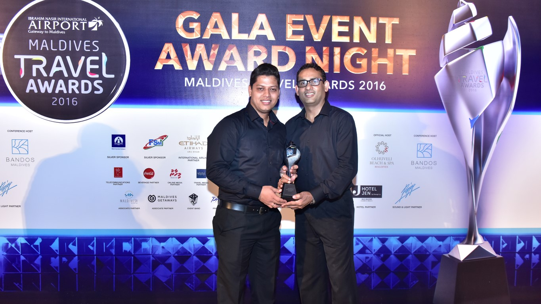 NEWS Maldives Travel Awards 2016