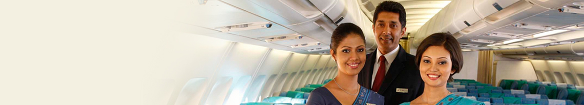 Economy Class - Non-stop flights with SriLankan Airlines