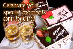 Celebrate Your Special Moments On-board
